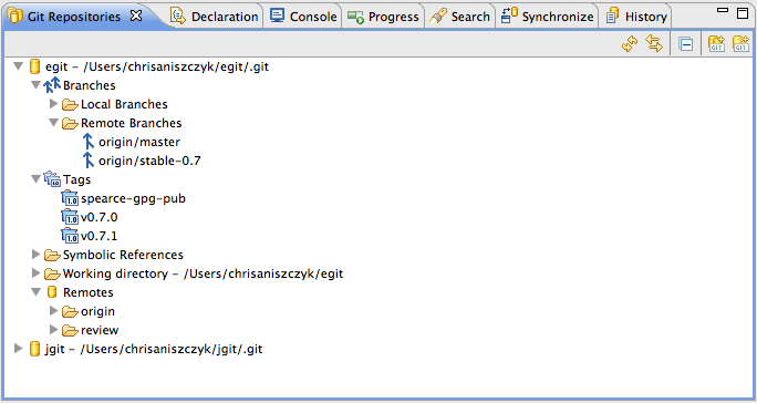 Git Support, Top Eclipse Helios Feature #2