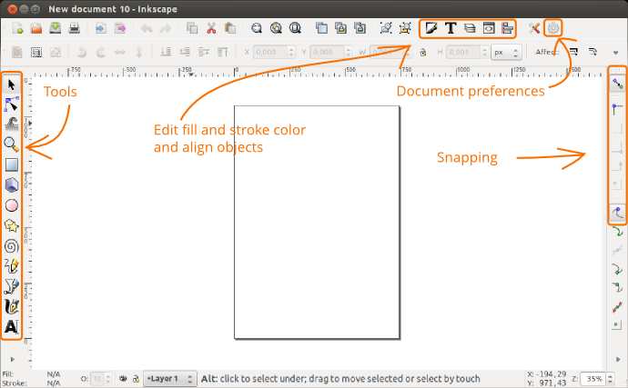 Creating interactive wireframes with Inkscape and JavaScript