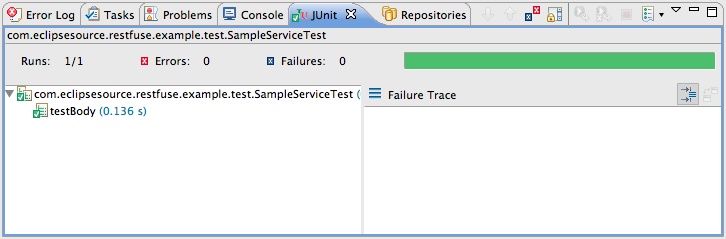 Running HTTP/REST Integration tests in an Eclipse Tycho