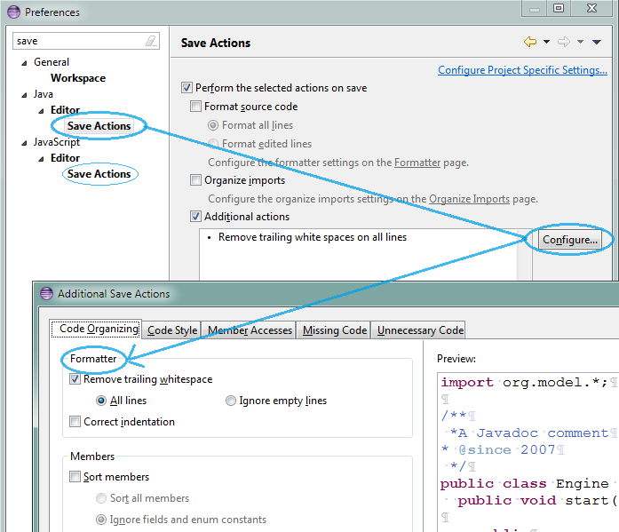 How to deal with whitespaces in the Eclipse IDE - EclipseSource