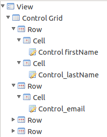 EMF Forms - View Model Elements