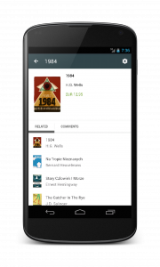 Bookstore example on Android 4.2.2 Nexus 4