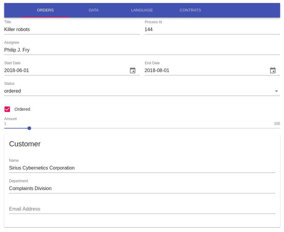 Single-sourcing web & mobile forms with JSON Forms - EclipseSource