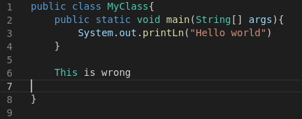 syntax highlighting in the Monaco editor